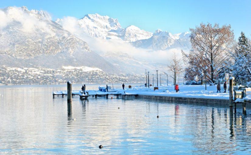 L'hiver à Annecy, ça peut être fun